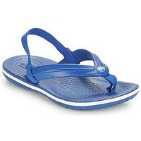 kengät Lapset Varvassandaalit Crocs CROCBAND STRAP FLIP K Blue