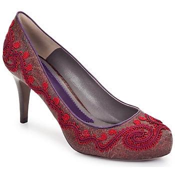 kengät Naiset Korkokengät Etro BRIGITTE Red