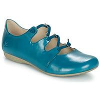 kengät Naiset Balleriinat Josef Seibel FIONA 04 Blue