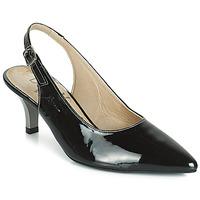 kengät Naiset Korkokengät Dorking 7814 Black