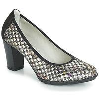 kengät Naiset Korkokengät Dorking 7736 Grey / Black