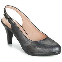 kengät Naiset Korkokengät Dorking 7119 Black