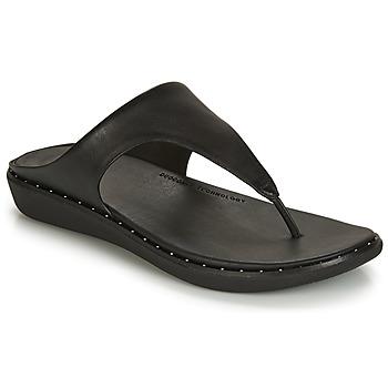 kengät Naiset Varvassandaalit FitFlop BANDA II Black