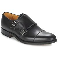 kengät Miehet Herrainkengät Barker TUNSTALL Black