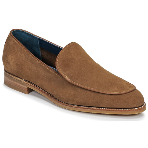 kengät Miehet Mokkasiinit Barker TOLEDO Brown