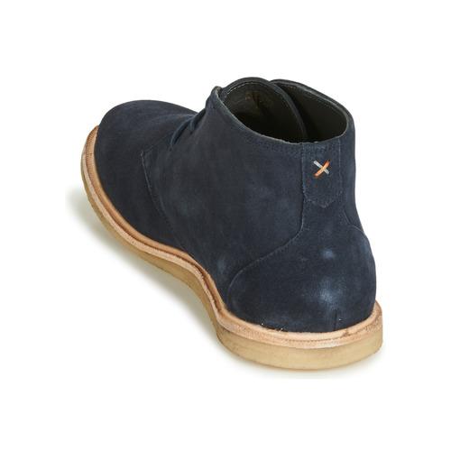 Frank Wright Baxter Blue - Ilmainen Toimitus- Kengät Bootsit Miehet 86