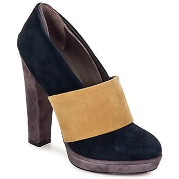 kengät Naiset Korkokengät Kallisté BOTTINE 5854 Vaaleanpunainen / kulta / beige