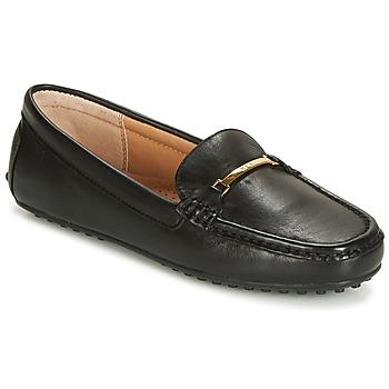 kengät Naiset Mokkasiinit Lauren Ralph Lauren BRIONY Black