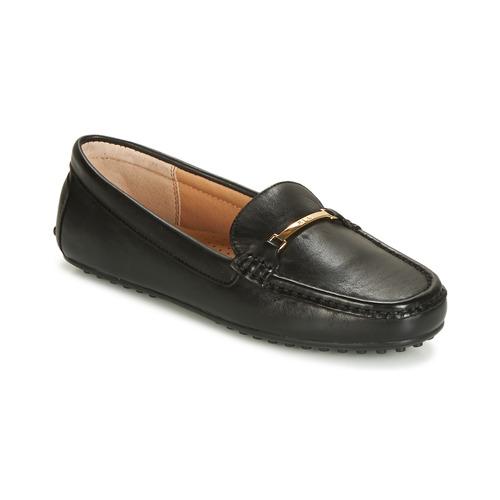 kengät Naiset Mokkasiinit Lauren Ralph Lauren BRIONY Musta
