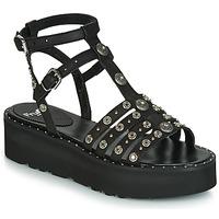 kengät Naiset Sandaalit ja avokkaat Fru.it 5433-476 Black