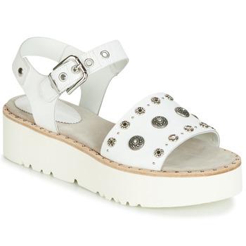 kengät Naiset Sandaalit ja avokkaat Fru.it 5435-476 White