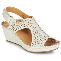 kengät Naiset Sandaalit ja avokkaat Pikolinos MARGARITA 943 White