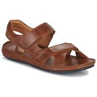 kengät Miehet Sandaalit ja avokkaat Pikolinos TARIFA 06J Camel