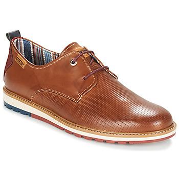 kengät Miehet Derby-kengät Pikolinos BERNA M8J Camel