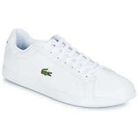 kengät Miehet Matalavartiset tennarit Lacoste GRADUATE BL 1 White