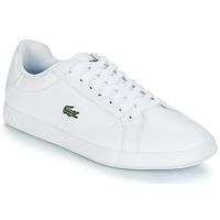 kengät Naiset Matalavartiset tennarit Lacoste GRADUATE BL 1 White