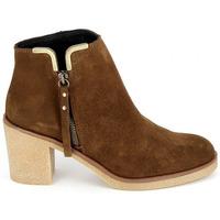 kengät Naiset Nilkkurit Porronet Boots 4032 Marron Ruskea