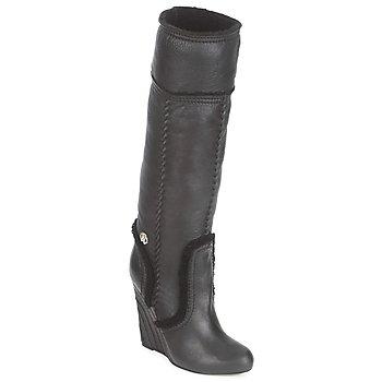 kengät Naiset Saappaat Roberto Cavalli QDS598-PJ007 Black