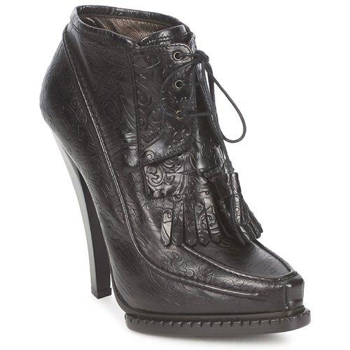kengät Naiset Nilkkurit Roberto Cavalli QDS640-PZ030 Black
