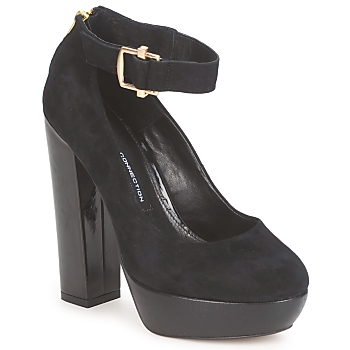 kengät Naiset Korkokengät French Connection JUINES Black