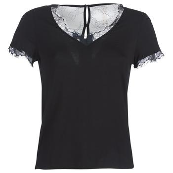 vaatteet Naiset Lyhythihainen t-paita Morgan DMINOL Black