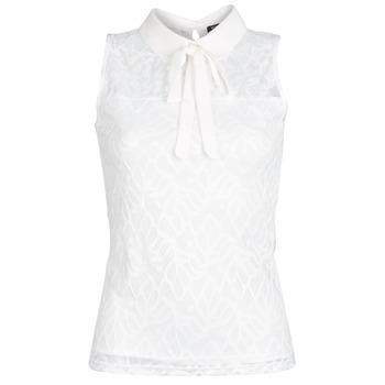 vaatteet Naiset Topit / Puserot Morgan DINCO White