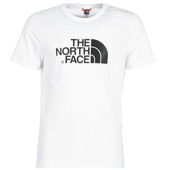 vaatteet Miehet Lyhythihainen t-paita The North Face MEN'S S/S EASY TEE White