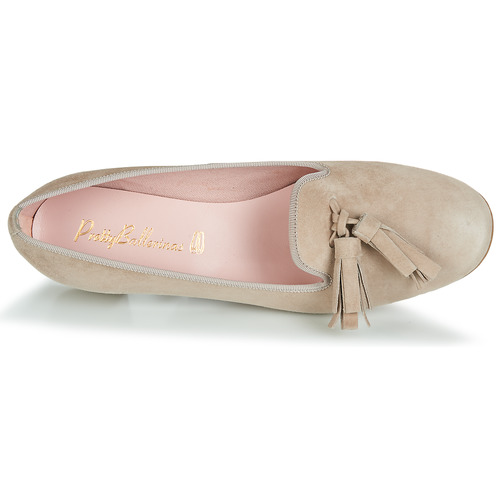 Pretty Ballerinas Angelis Beige - Ilmainen Toimitus- Kengät Korkokengät Naiset 122