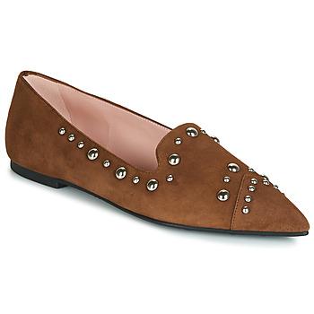 kengät Naiset Mokkasiinit Pretty Ballerinas ANGELIS Ruskea