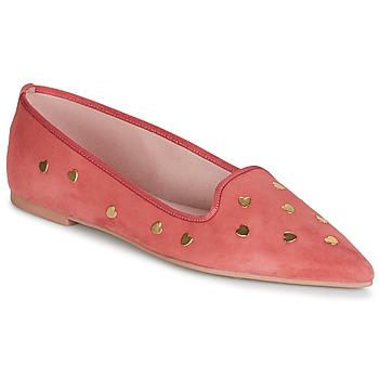 kengät Naiset Balleriinat Pretty Ballerinas MAHA Vaaleanpunainen