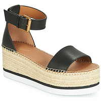 kengät Naiset Espadrillot See by Chloé SB32201A Black
