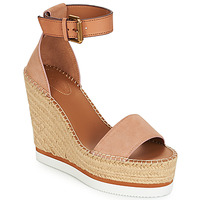 kengät Naiset Espadrillot See by Chloé SB26152 Pink / Nude