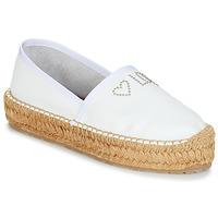 kengät Naiset Espadrillot Love Moschino JA10163G07 White