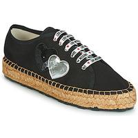 kengät Naiset Espadrillot Love Moschino JA10263G07 Black