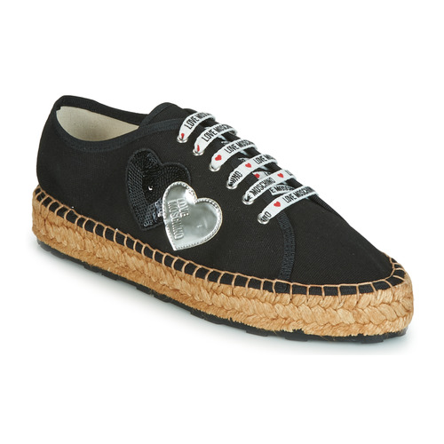 kengät Naiset Espadrillot Love Moschino JA10263G07 Musta