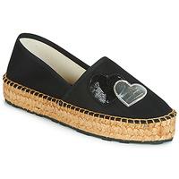 kengät Naiset Espadrillot Love Moschino JA10243G07 Black