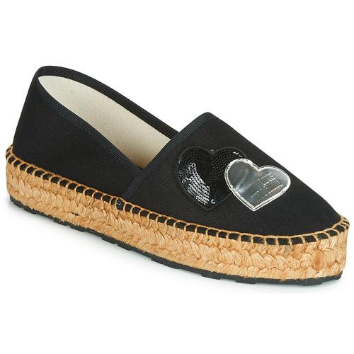 kengät Naiset Espadrillot Love Moschino JA10243G07 Musta