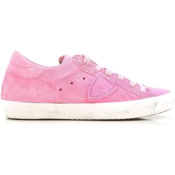 kengät Naiset Matalavartiset tennarit Philippe Model CLLD XR04 Rosa acceso