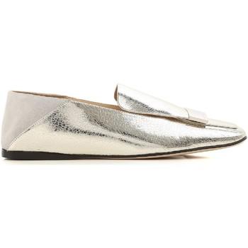 kengät Naiset Mokkasiinit Sergio Rossi A77990 MFN305 8198 argento