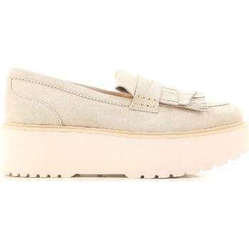 kengät Naiset Mokkasiinit Hogan HXW3550AF10CR0M024 beige