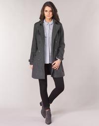 vaatteet Naiset Paksu takki Casual Attitude HAIELLI Grey