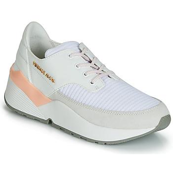 kengät Naiset Matalavartiset tennarit Versace Jeans Couture EOVTBSL6 Valkoinen