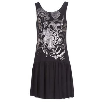 vaatteet Naiset Lyhyt mekko Desigual OMAHAS Black