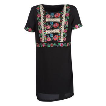 vaatteet Naiset Lyhyt mekko Desigual TRALEE Black