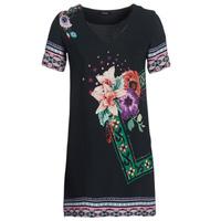 vaatteet Naiset Lyhyt mekko Desigual BARTA Black