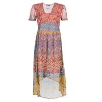 vaatteet Naiset Pitkä mekko Desigual NANA Monivärinen
