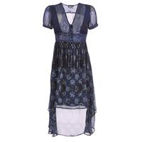 vaatteet Naiset Pitkä mekko Desigual MINALI Laivastonsininen