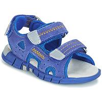 kengät Pojat Urheilusandaalit Mod'8 TRIBATH Blue