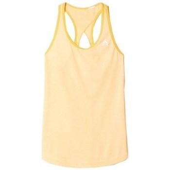 vaatteet Naiset Hihattomat paidat / Hihattomat t-paidat adidas Originals Keyhole Tank Oranssin väriset