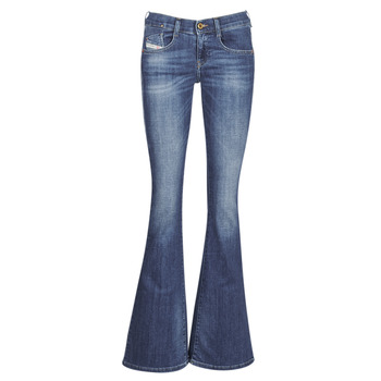 vaatteet Naiset Bootcut-farkut Diesel EBBEY Blue / 089am